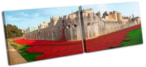 Tower of London Poppies City - 13-2239(00B)-MP14-LO